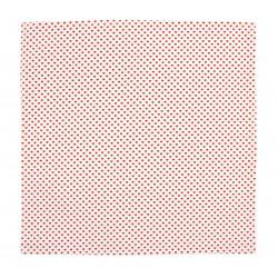Prostírání - ubrousky SRDÍČKA - červená - menší