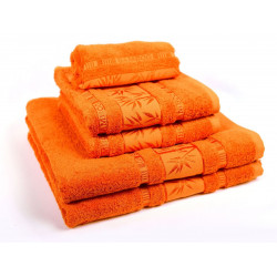 Ručník BAMBUS oranžový