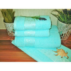 Veratex Froté ručník 450g 50x100 cm (15-zelinkavá)