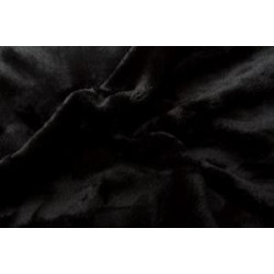 Mikroflanel prostěradlo černé