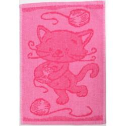 Dětský ručníček MOTIV růžový