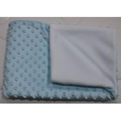 Dětská deka MINKY modrá 75...