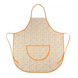 Zástěra kuchyňská oranžová